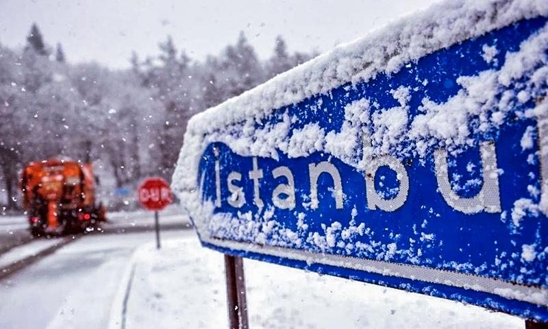 الثلج قادم إلى إسطنبول 1