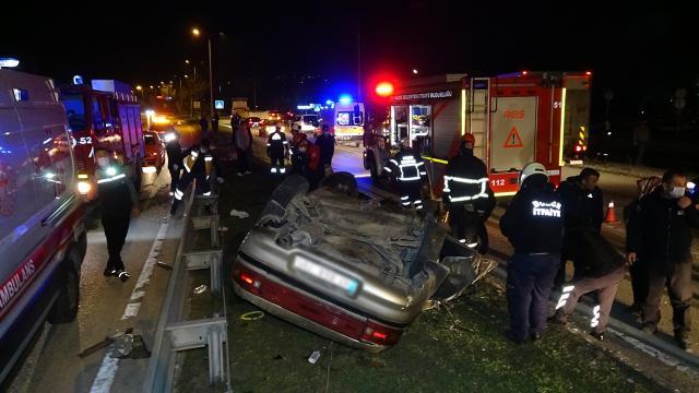 حادث مروع لسيارة خرجت عن السيطرة تحمل 5 أشخاص في ولاية دوزجة 1