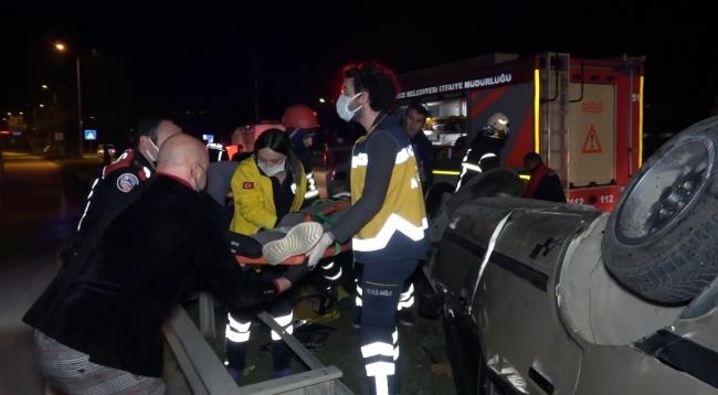 حادث مروع لسيارة خرجت عن السيطرة تحمل 5 أشخاص في ولاية دوزجة 3