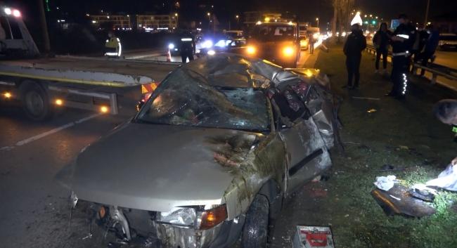 حادث مروع لسيارة خرجت عن السيطرة تحمل 5 أشخاص في ولاية دوزجة 2