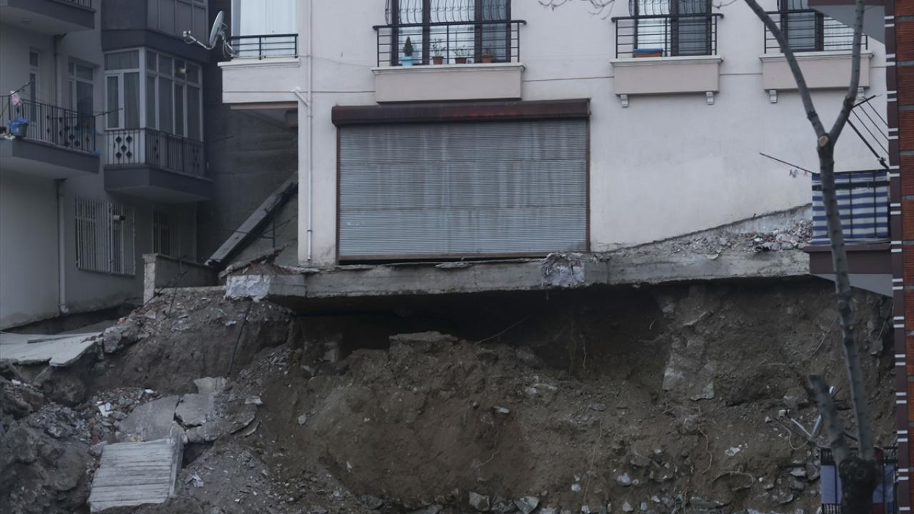 مبنى في خطر الانهيار في أنقرة 1