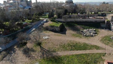 العثور على معرض روماني في قصر توب كابي 3