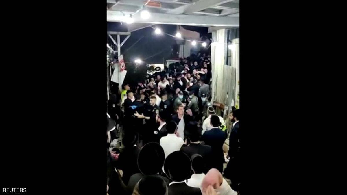 فيديو.. عشرات القتلى في حادثة انهيار في احتفال ديني بإسرائيل 11