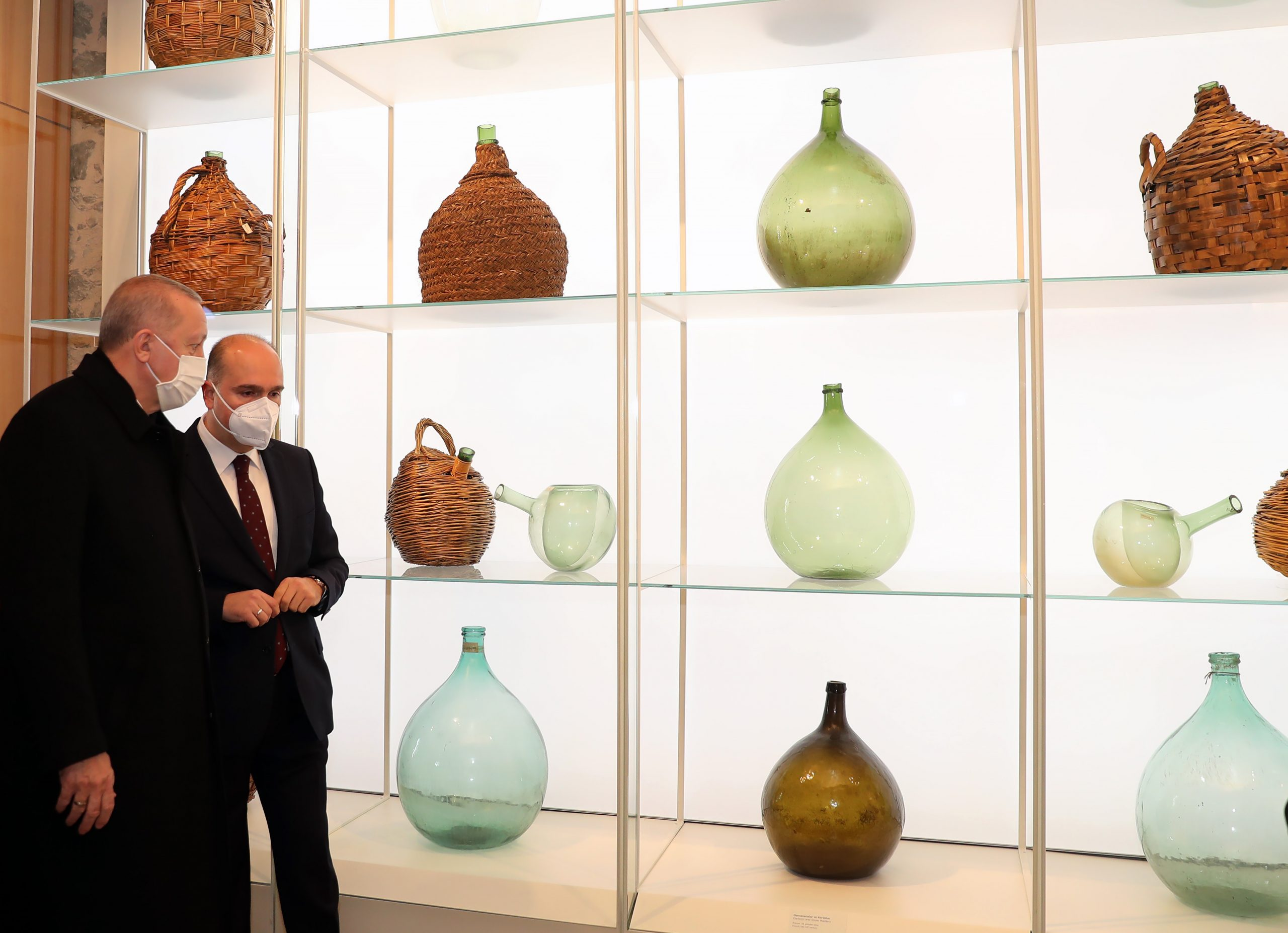 أردوغان يفتتح متحف الزجاج في إسطنبول 1