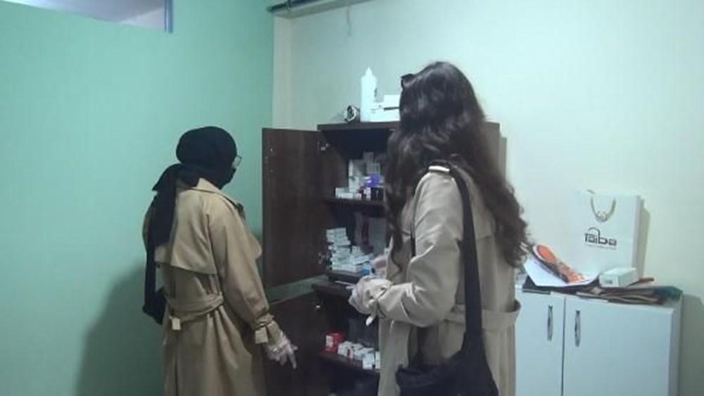 بالصور : الأمن التركي يغلق شقة سوريين تم تحويلها إلى عيادة إجهاض في إسطنبول 5