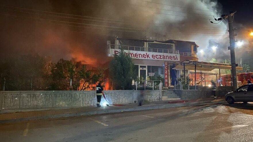 عاجل:انفجار مطعم في ولاية قونية 1